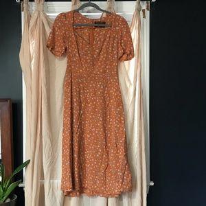 Reformation Floral Dress
